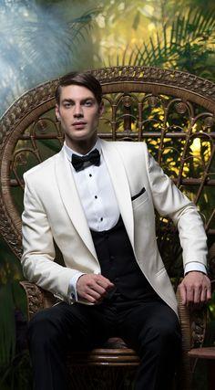 Costum de ceremonie Filip Cezar Ivory  mens  tuxedo http   www. aed378309bb