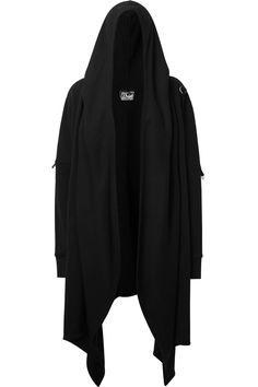 Verity Cropped Hood [B] Dark Fashion, Gothic Fashion, Mens Fashion, Hooded Cardigan, Cardigan For Men, Black Cardigan, Adidas Jacket, Hoods, Cool Outfits
