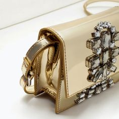 Image 6 of JEWELS CROSS-BODY BAG from Zara