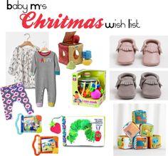 Baby M's Christmas Wish List 2014