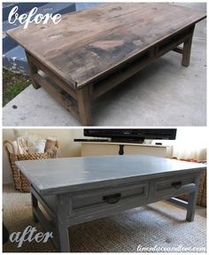 DIY: Antiquing furniture