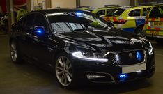 A stunning Met Police Driver Training Jaguar XF seen at the Met Police's Driving School. Police Cars, Police Vehicles, Jaguar Xf, Driving School, Emergency Vehicles, Thin Blue Lines, Swat, Ambulance, Cops