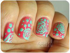 Gnarly Gnails #nail #nails #nailart