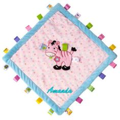 Mary Meyer Taggies feature ultra-soft fabrics, whimsical appliques, and colorful embroidery. Taggies and Bestever Baby Mats, together for the first time. Embroidered Baby Blankets, Baby Bootees, Baby Lovey, Security Blanket, Signature Collection, Cozy Blankets, Infant Activities, Knit Or Crochet, Baby Quilts