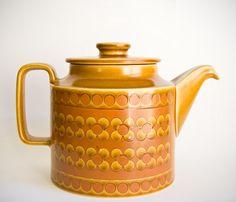 Hornsea Saffron teapot, designed by John Clappison