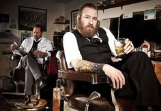 "As Movember Ends, Put the ""Bar"" Back into Barbershop Photos 