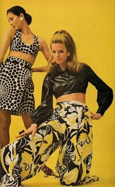 1960s Fashion:  McCalls Patterns Fashion Magazine, Summer of 1969.