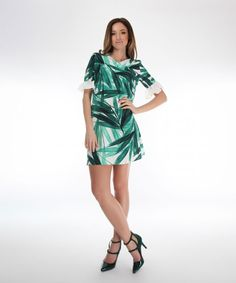 rochie verde Ethical Fashion Brands, Tropical, Green, Casual, Dresses, Atelier, Vestidos, Dress, Gown
