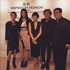 #lovè @voguechinamagazine Art & Fashion Crossover with @angelica_cheung @renzorosso