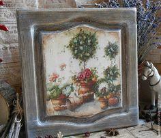 Картины цветов ручной работы. Ярмарка Мастеров - ручная работа. Купить Панно из…