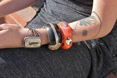 cuffed on Abbot Kinney Abbot Kinney Blvd, Street Fashion, Cuff Bracelets, Cuffs, Street Style, Jewelry, Urban Fashion, Jewlery, Arm Warmers