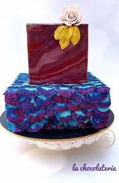 CAKER BUDDIES ULTRA VOILET COLLABORATION: DAZZLER by Lachocolaterie