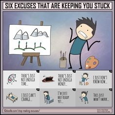 Six Excuses that are Keeping You Stuck