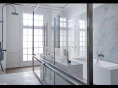 Salle De Bain Damien Langlois-Meurinne - Séparation d'espace : 10 solutions imaginées par des architectes et designers - Elle Décoration