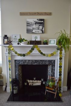 St. Patrick's Day Fireplace | Everyday Allison Rae