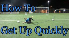 Goalkeeper Training: How to Get Up Quickly