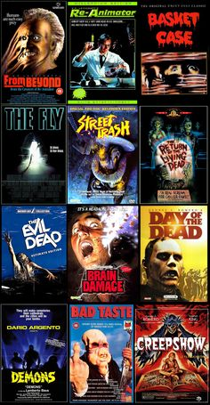 80s horror films........B's all the way...