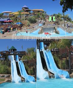 Raging Waters in San Jose, CA  -- Great family fun on a hot day, and amongst the best water parks in the U.S.!