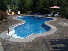 interlocking pavers   interlocking pavers around pool deck photo
