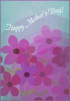 Free #Printable Happy Mothers Day Greeting #Card #MothersDay