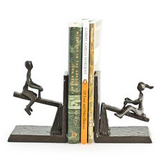 Found it at AllModern - See Saw Metal Bookend