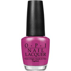 Opi Nail Lacquer, Pamplona Purple ($10) ❤ liked on Polyvore featuring beauty products, nail care, nail polish, makeup, pamplona purple, opi nail varnish, opi nail lacquer, opi nail polish, opi nail color and opi nail care