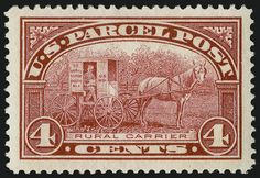 USA Carruaje Postal Rural