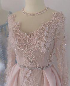 Kebaya Lace, Kebaya Hijab, Kebaya Dress, Kebaya Wedding, Muslimah Wedding Dress, Kebaya Modern Dress, Hijab Dress Party, Dress Brokat, New Mode