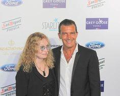 La Gala  Starlite 2014, Antonio Banderas y Mia Farrow
