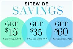 Score great style & save with one of the offers below.  Offers expire June 30, 2013, at 12 midnight, ET. Credit will be available from July 1, 2013 – July 31, 2013. Cannot be combined with other coupon codes. Offers not valid on prior purchases.