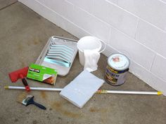 How to stain concrete patio