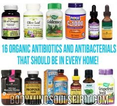 16 Organic Antibiotics And Antibacterials That Should Be In Every Home!  body mind soul spirit BodyMindSoulSpirit.com http://bodymindsoulspirit.com/
