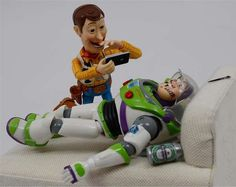 Artist Santlov - Artist Santlov - Humanized Toy Photography via @TrendHunter.com.com. 2