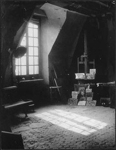 Picasso's Studio, Rue des Grands-Augustins, Paris, 1945Photo by Brassaï