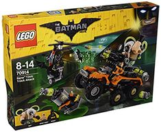 Bane is causing chaos in the city with his powerful 6 x 6 toxic truck. Fly to the rescue with batman's whirly-bat. Move fast to dodge the truck's six stud rapid shooter and toxic bombs thrown by bane. Lego Batman Bane, Batman Film, Batman Batarang, Batman Cape, Lego Batman Movie, Toys R Us, Minifigures Lego, Lego Ninjago, Lego Dc Comics
