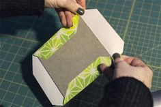 Scrapbook album covers:I wish I'd known these bookbinding tips years ago! How to Fold Corners like a Bookbinder - Paper Art and Book Making Diy Paper, Paper Art, Paper Crafts, Diy Crafts, Handmade Journals, Handmade Books, Handmade Rugs, Handmade Crafts, Handmade Notebook