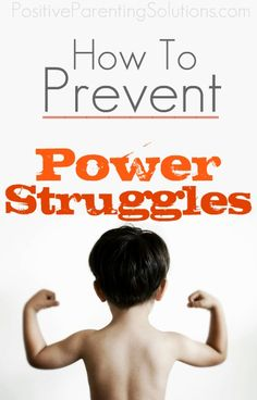 Amazing tips and tricks on how to prevent Power Struggles.