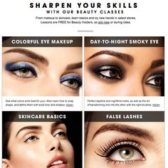 Sephora University Beauty Classes! #beautytips #beautysecret #tipsandtricks - bellashoot.com