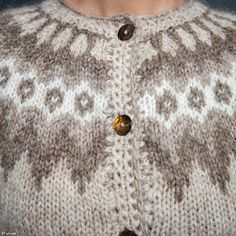 Traditional pattern for Lopapeysa Cardigan Design, Icelandic Sweaters, Free Pattern, Knitting Patterns, Traditional, Wool, Crafts, Winter, Winter Time