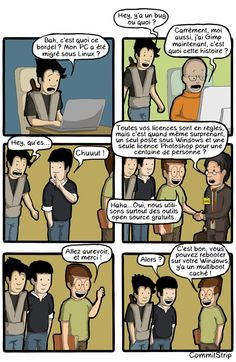 Crack or OpenSource ? Humour Geek, Nerd Humor, Troll, In A Nutshell, Fun Comics, Puns, Father, Geek Stuff, Memes