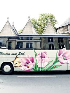 Flowers Bus, Paris