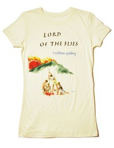 Lord of the Flies book cover t-shirt ($20-50) - Svpply