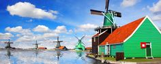 Les moulins néerlandais - Pays-Bas