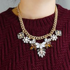 I love the necklace! So good for winter and fall! What do y'all think?