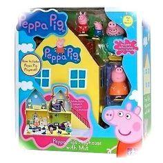 Large Peppa Pig's Playhouse & Mat - Peppa Pig Playhouse & Mummy & Daddy Pig, Peppa & George Play House Peppa Pig http://www.amazon.co.uk/dp/B00L6JUMIO/ref=cm_sw_r_pi_dp_elzqub0KA4KHW