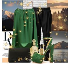 """""""A golden key can open any door."""" by jamie-c ❤ liked on Polyvore"""