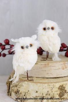 winter woodland animals baby shower decorations | baby shower party baby shower ideas owls woodland woodland animal ...