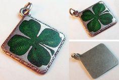 Early enameled 4-leaf clover — sold for $84.23
