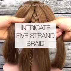 Do you wonder how to dutch braid your own hair easly? So, 2019 will be the year of the braids. We are very excited about this trend that will be the savior of all of us on hot summer days. As women, w Braid Styles, Short Hair Styles, Box Braids Hairstyles, Updos Hairstyle, Choppy Hairstyles, Nice Hairstyles, Hairstyles Videos, Braided Hairstyles Tutorials, Hairdos