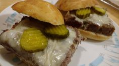 """""""So what are you making for dinner?"""": White Castle Burgers - Homemade"""